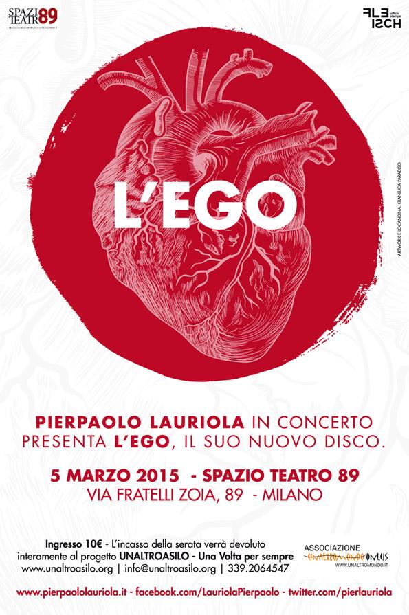5 marzo 2015: Pierpaolo Lauriola in concerto per UnAltroAsilo