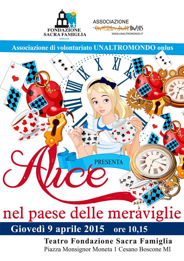 9 aprile: Alice nel paese delle meraviglie