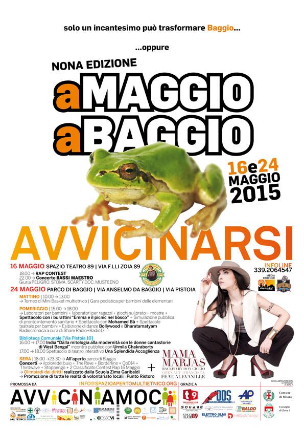 Finalmente ci siamo: inizia la nona edizione di A Maggio a Baggio