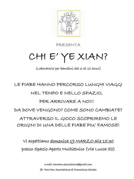 Chi è Ye Xian?