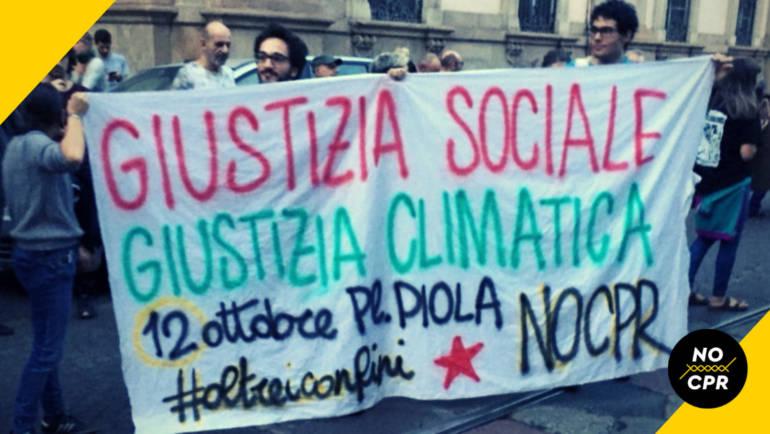12 Ottobre 2019 ● Manifestazione contro CPR e Decreti Salvini ● #oltreiconfini