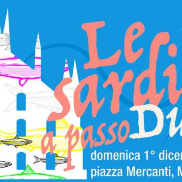 1 dicembre 2019 Le sardine a passo Duomo – Milano