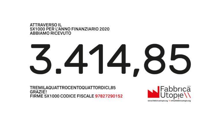 5 per mille 2020!