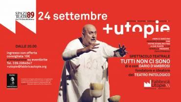 24/09/2021 Seconda edizione di piùtopie