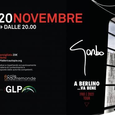 """20/11/21 """"A Berlino… Va Bene"""" concerto di Garbo per l'École Unautremonde"""